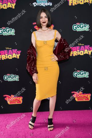 "Genevieve Buechner attends the premiere of Disney Channel's ""Freaky Friday"" at the Beacon Theatre, in New York"