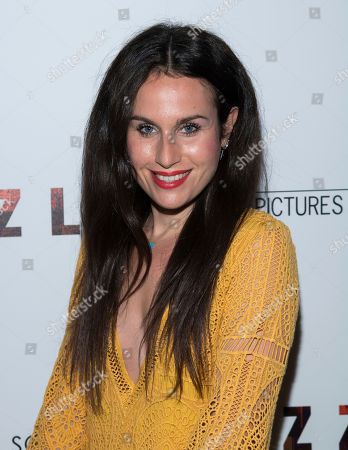 """Samantha Michelle attends a screening of """"Puzzle"""", hosted by Sony Pictures Classics and The Cinema Society, at the Roxy Cinema, in New York"""