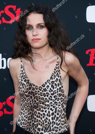 Samantha Michelle attends a Rolling Stone magazine relaunch event presented by YouTube Music, in New York