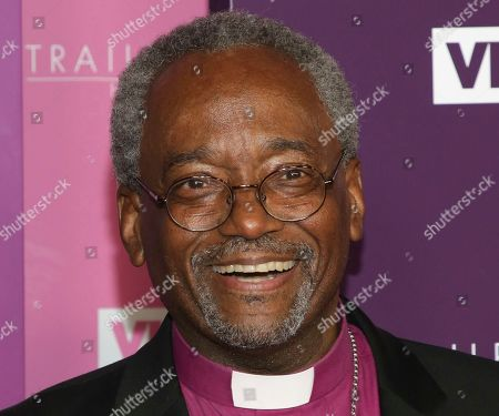 Bishop Michael Curry attends VH1's Trailblazer Honors at the Cathedral of St. John the Divine in New York. Curry, who preached about the power of love at the wedding of Prince Harry and Meghan Markle, underwent surgery for prostate cancer, Tuesday, July 31, 2018. Curry is the first black leader of the Episcopal Church in the United States