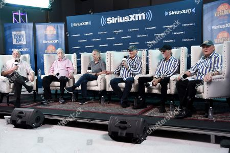 Editorial photo of SiriusXM Interview with The Beach Boys, Los Angeles, USA - 30 Jul 2018
