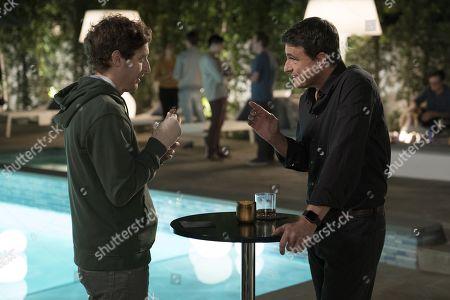 Thomas Middleditch as Richard Hendricks, Matt Ross as Gavin Belson