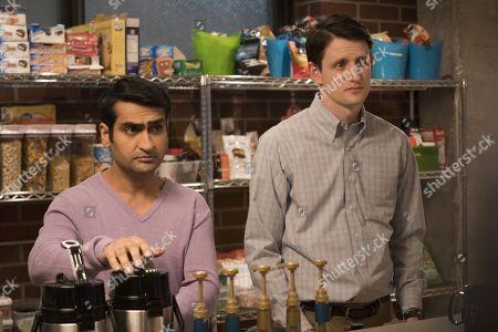 Kumail Nanjiani as Dinesh Chugtai, Zach Woods as Donald 'Jared' Dunn