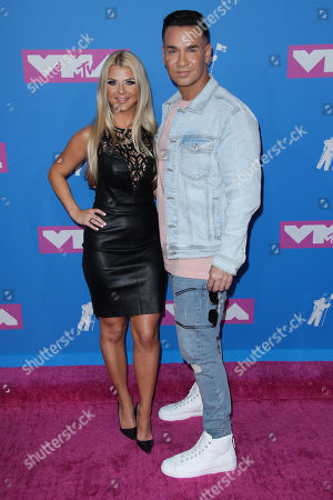 Stock Picture of Lauren Pesce and Michael 'The Situation' Sorrentino