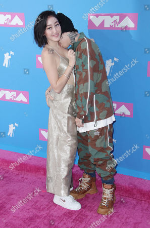 Stock Picture of Noah Cyrus and Lil Xan