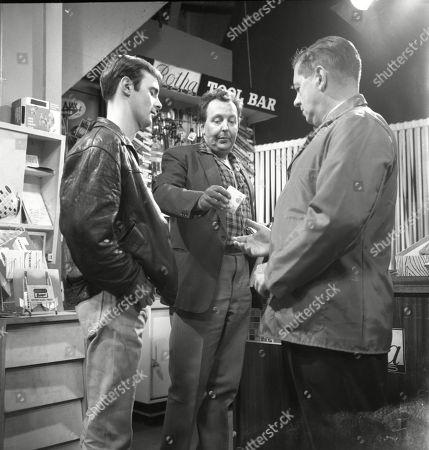 Bunny May (as Jim Pickup), Paul Dawkins (as George Pickup) and Frank Pemberton (as Frank Barlow)