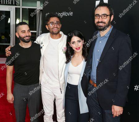 Sev Ohanian, Aneesh Chaganty, Natalie Qasabian and Adam Sidman