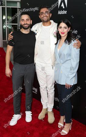 Sev Ohanian, Aneesh Chaganty and Natalie Qasabian