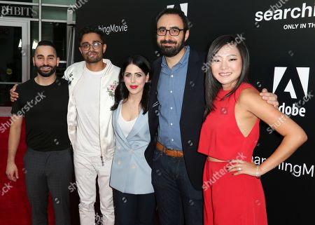 Sev Ohanian, Aneesh Chaganty, Natalie Qasabian, Adam Sidman and Michelle La