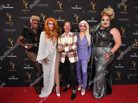 Asia O'Hara, Kameron Michaels, Carson Kressley, Aquaria and Eureka O'Hara