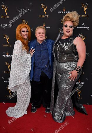 Stock Photo of Kameron Michaels, Louie Anderson and Eureka O'Hara