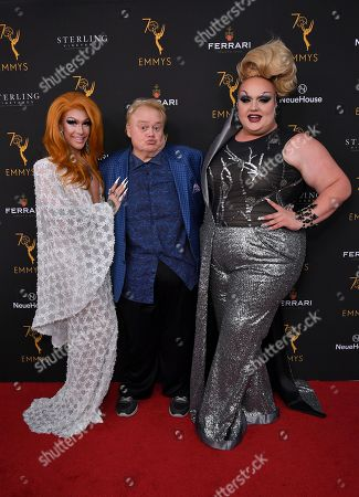 Kameron Michaels, Louie Anderson and Eureka O'Hara