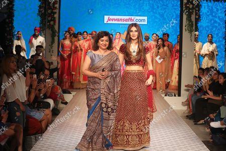 Vaani Kapoor, Pushpa Bector on the catwalk