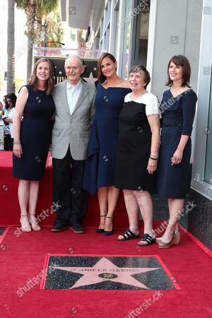Susannah Kay Garner Carpenter, William John Garner, Jennifer Garner, Patricia Ann Garner, Melissa Garner Wylie