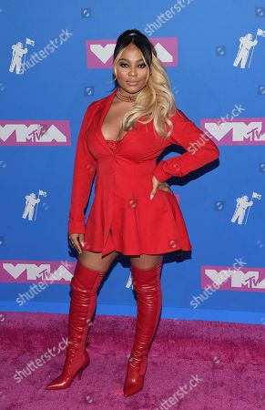 Editorial picture of 2018 MTV Video Music Awards - Arrivals, New York, USA - 20 Aug 2018