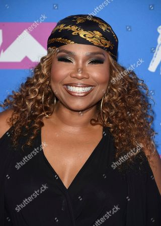 Mona Scott-Young arrives at the MTV Video Music Awards at Radio City Music Hall, in New York