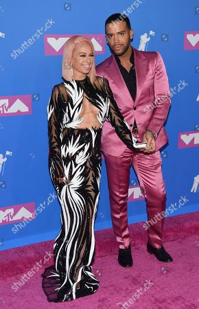 Mariahlynn, Jonathan Fernandez. Mariahlynn, left, and Jonathan Fernandez arrive at the MTV Video Music Awards at Radio City Music Hall, in New York