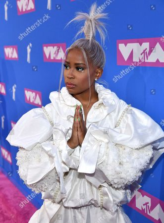 Editorial picture of 2018 MTV Video Music Awards - Red Carpet, New York, USA - 20 Aug 2018