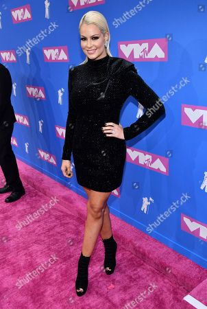 Editorial photo of 2018 MTV Video Music Awards - Red Carpet, New York, USA - 20 Aug 2018