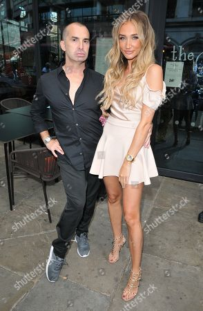 Stock Picture of Megan McKenna and Louie Spence