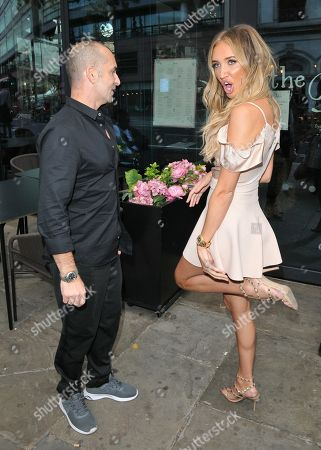 Megan McKenna and Louie Spence