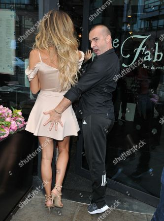 Stock Photo of Megan McKenna and Louie Spence