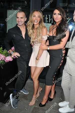 Stock Picture of Louie Spence, Megan McKenna and Charlotte Dawson