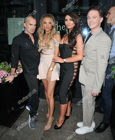 Louie Spence, Megan McKenna, Charlotte Dawson and Stephen Bailey