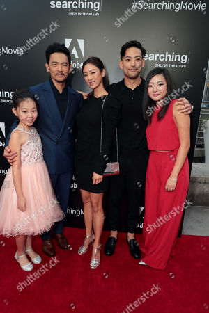 Editorial image of Special film screening of Screen Gems thriller 'Searching' at ArcLight Hollywood, Los Angeles, USA - 20 Aug 2018
