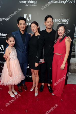 Editorial photo of Special film screening of Screen Gems thriller 'Searching' at ArcLight Hollywood, Los Angeles, USA - 20 Aug 2018