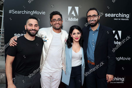 Editorial picture of Special film screening of Screen Gems thriller 'Searching' at ArcLight Hollywood, Los Angeles, USA - 20 Aug 2018