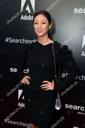 Sara Sohn attends the special screening of Screen Gems thriller SEARCHING at ArcLight Hollywood, sponsored by Adobe.