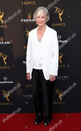 Christina Pickles attend the Television Academy's 2018 Performers Peer Group Celebration of the 70th Emmy Awards at NeueHouse Hollywood, in Los Angeles