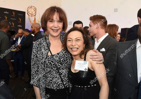 Lee Garlington, Kathie Barnes. Lee Garlington, left, and Kathie Barnes attend the Television Academy's 2018 Performers Peer Group Celebration of the 70th Emmy Awards at NeueHouse Hollywood, in Los Angeles