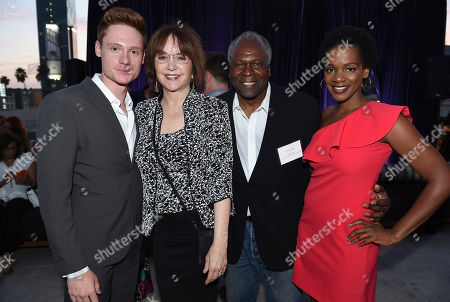 Miles Tagtmeyer, Lee Garlington, Kim Estes, Kelsey Scott. Miles Tagtmeyer, from left, Lee Garlington, Kim Estes, and Kelsey Scott attend the Television Academy's 2018 Performers Peer Group Celebration of the 70th Emmy Awards at NeueHouse Hollywood, in Los Angeles