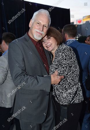 Lee Garlington, right, and guest attend the Television Academy's 2018 Performers Peer Group Celebration of the 70th Emmy Awards at NeueHouse Hollywood, in Los Angeles
