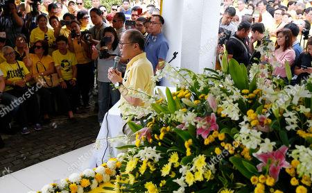 Editorial photo of Assassination Anniversary, Paranaque, Philippines - 21 Aug 2018