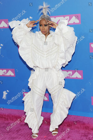 Editorial image of MTV Video Music Awards, Arrivals, New York, USA - 20 Aug 2018