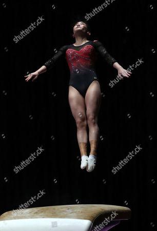 Editorial image of Asian Games Gymnastics, Jakarta, Indonesia - 21 Aug 2018