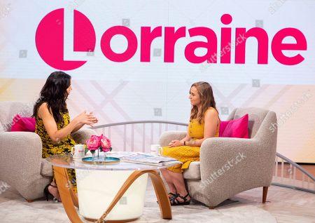 Editorial photo of 'Lorraine' TV show, London, UK - 21 Aug 2018