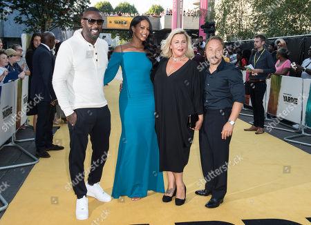 Idris Elba, Sabrina Dhowre, Hannah Walters and Stephen Graham