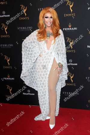 Kameron Michaels arriving at the Television Academy's Performers Peer Group Celebration at NeueHouse Hollywood in Los Angeles, California,  USA, 20 August 2018.