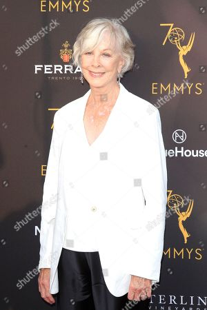 Christina Pickles arriving at the Television Academy's Performers Peer Group Celebration at NeueHouse Hollywood in Los Angeles, California,  USA, 20 August 2018.