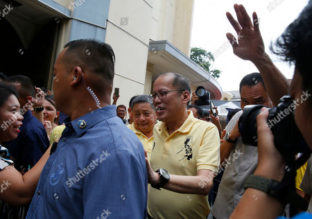 Editorial picture of Assassination Anniversary, Quezon, Philippines - 21 Aug 2018