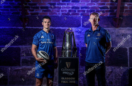 Pictured today at the launch of the 2018/19 Guinness PRO14 Season is Leinster's Jonathan Sexton and Leinster head coach Leo Cullen