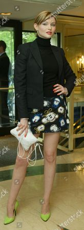 Stock Photo of Singer Sophie Ellis Bextor Pictured At The Ivor Novello Awards At The Grosvenor House Hotel London.