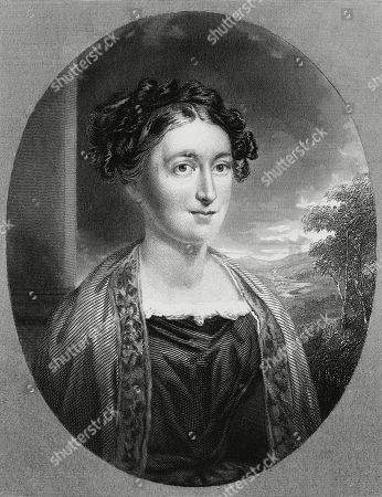 Editorial photo of Lydia Huntley Sigourney, 1828