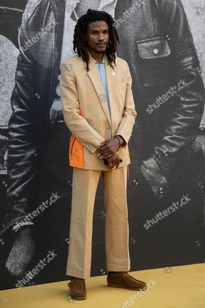 British actor/cast member Sheldon Shepherd arrives for the UK premiere of 'Yardie' at the BFI Southbank in London, Britain, 21 August 2018. The movie is due for release in the UK on 24 August.