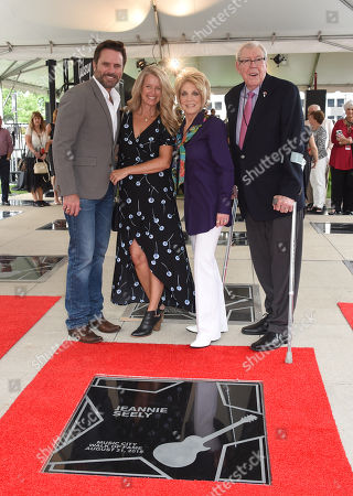 Charles Esten and Patty Hanson, Jeannie Seely and husband Gene Ward