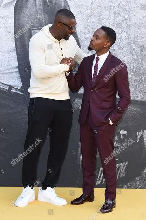 Idris Elba and Aml Ameen